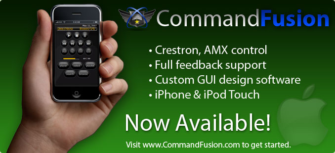 CommandFusion - Coming Soon!